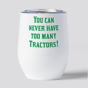 TractorsGreen Insulated Wine Tumbler