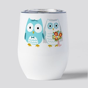 owlscaketopper Insulated Wine Tumbler