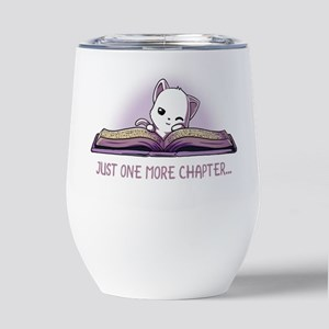 Just One Chapter Insulated Wine Tumbler