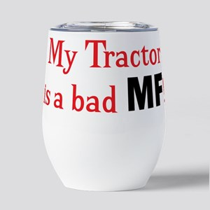 tractor Insulated Wine Tumbler