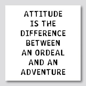 Attitude Adventure Photo Wall Tile