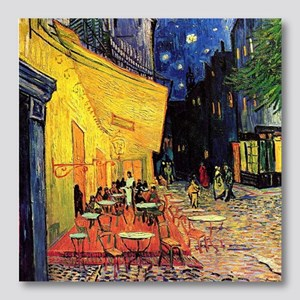 Van Gogh, Cafe Terrace at Night Photo Wall Tile