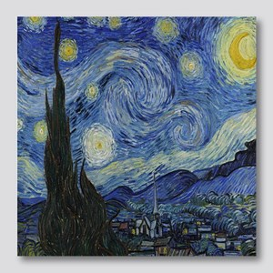 The Starry Night Photo Wall Tile