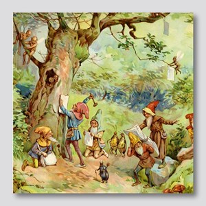 book of gnomes005_SQ Photo Wall Tile