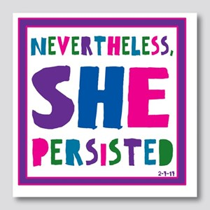 She persisted Photo Wall Tile
