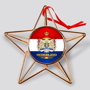Nederland Copper Star Ornament