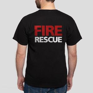 firerescue_text_dark_red Dark T-Shirt