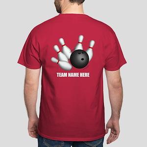 469375db Personalized Team Bowling T-Shirt