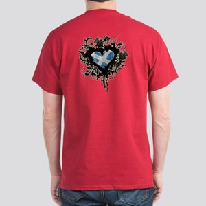 Scottish Heart Dark T-Shirt