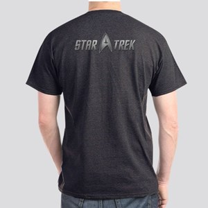 Star Trek light silver Dark T-Shirt