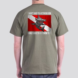 Dive Flag (Outswim) T-Shirt