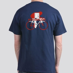 Swiss Cycling Dark T-Shirt