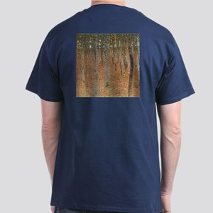 Beech Forest by Klimt Dark T-Shirt