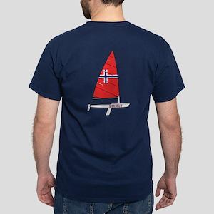 Norway Dinghy Sailing Dark T-Shirt