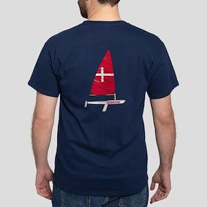 Denmark Dinghy Sailing Dark T-Shirt