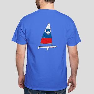 Slovenia Dinghy Sailing Dark T-Shirt