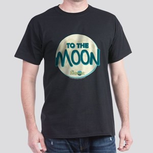 The Honeymooners: To The Moon Dark T-Shirt