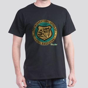 The Honeymooners: Loyal Raccoons Dark T-Shirt