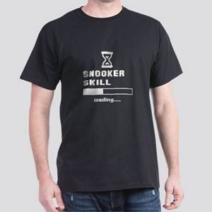 Snooker Skill Loading.... Dark T-Shirt