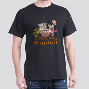 I Love My Ragdoll Designs Dark T-Shirt