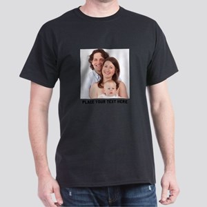 Photo Text Personalized Light T-Shirt