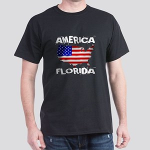 Florida American State Designs Dark T-Shirt