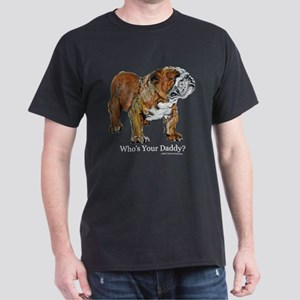 Bulldog Daddy Dark T-Shirt