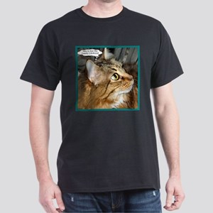 Maine Coon Cat Dark T-Shirt