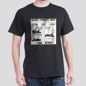 The Baldwin Locomotive Works Dark T-Shirt