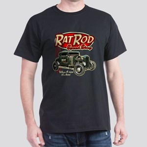 Rat Rod Speed Shop Dark T-Shirt