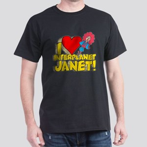 I Heart Interplanet Janet! Dark T-Shirt