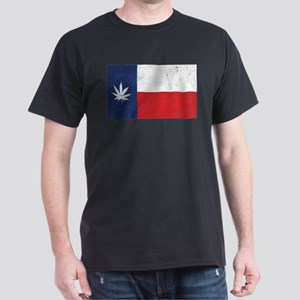 Vintage TX Leaf Dark T-Shirt
