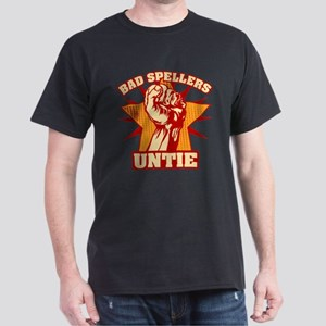 Bad Spellers Untie Dark T-Shirt