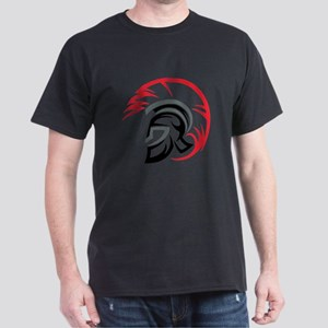 Roman Warrior Helmet Dark T-Shirt