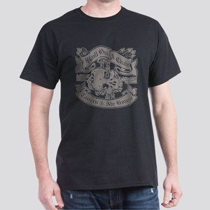 Skull On A Chain Tavern and Ale House Dark T-Shirt