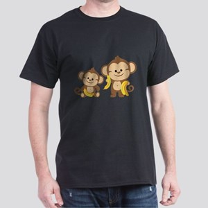 Little Monkeys Dark T-Shirt
