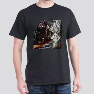 Train Collage T-Shirt