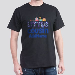 Personalized Little Cousin Dark T-Shirt