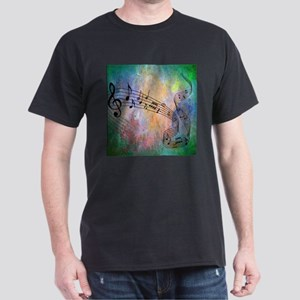Abstract Music T-Shirt