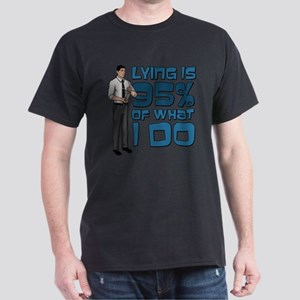 Archer Lying White T-Shirt