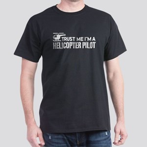 Helicopter Pilot Dark T-Shirt