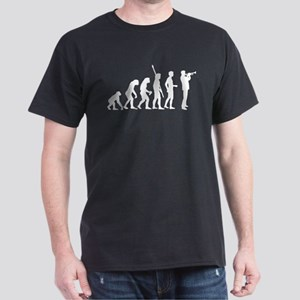evolution trumpet player Dark T-Shirt
