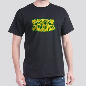 Shameless: Drink Like a Gallagher Dark T-Shirt