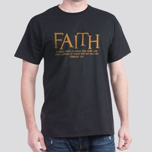Hebrew 11:1 Dark T-Shirt