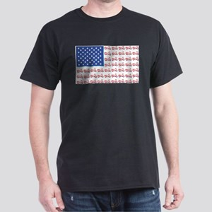 Motorcycle Flag with Shadow T-Shirt