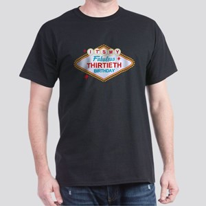 Las Vegas 30th Birthday Dark T-Shirt