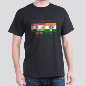Born American Raised Indian Dark T-Shirt