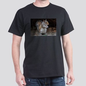 Dark T-Shirt cute squirrel