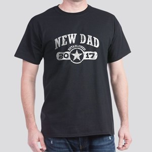 New Dad Est. 2017 Dark T-Shirt