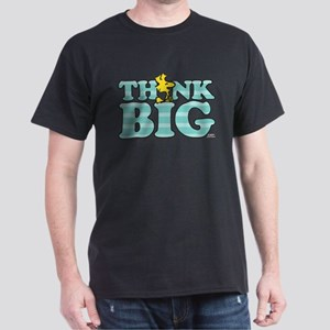 Woodstock-Think Big Dark T-Shirt